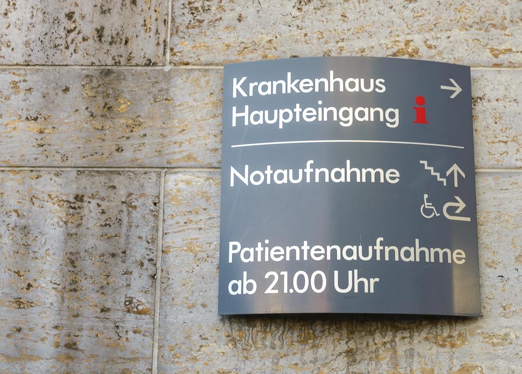 Notaufnahme Krankenhaus Foto: Pascal Höfig