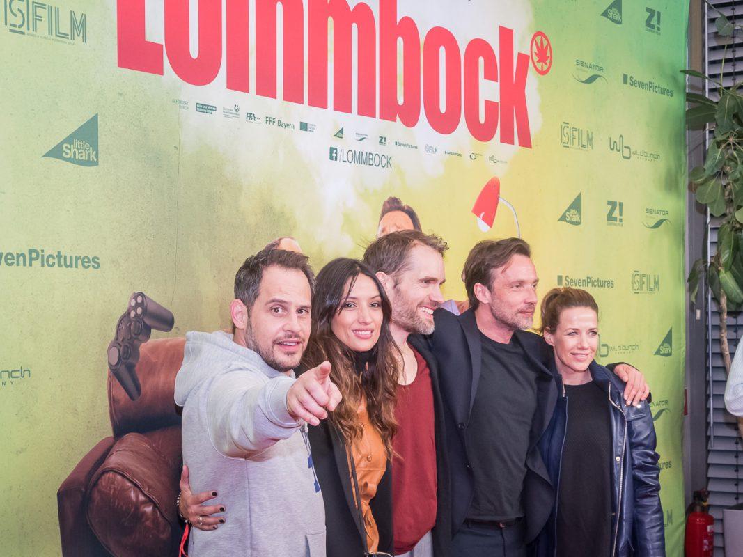 Moritz Bleibtreu, Melanie Winiger, Regisseur Christian Zübert, Lukas Gregorowicz und Alexandra Neldel. Foto: Pascal Höfig
