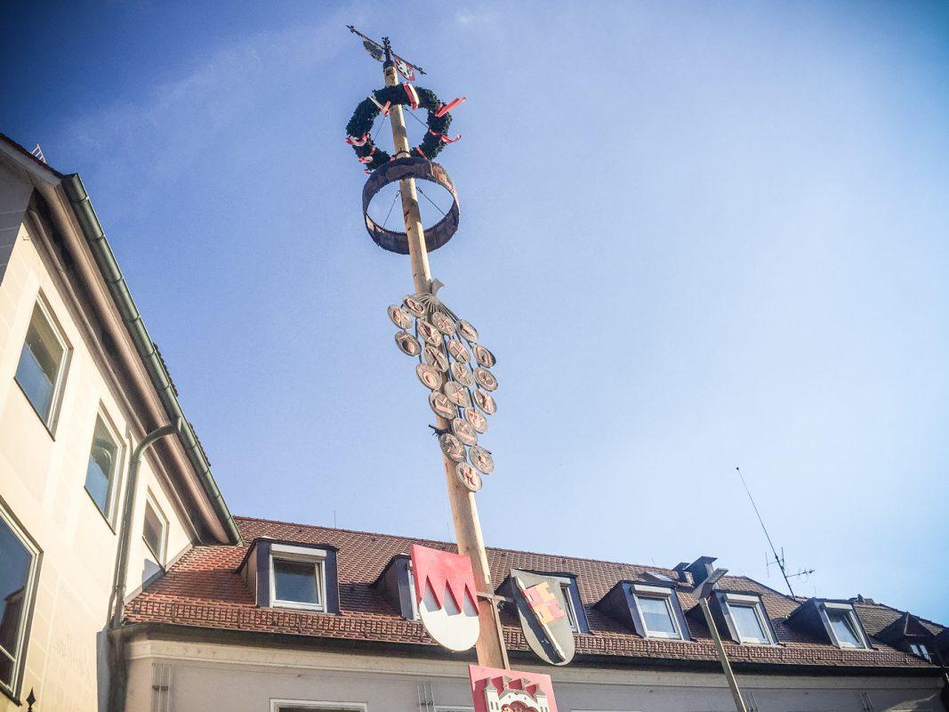 Maibaum. Foto: Pascal Höfig