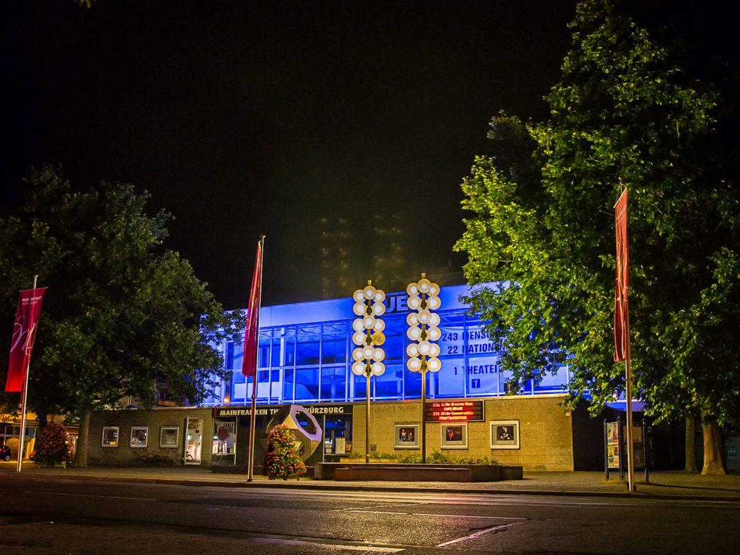 Das Mainfranken Theater. Foto: Pascal Höfig