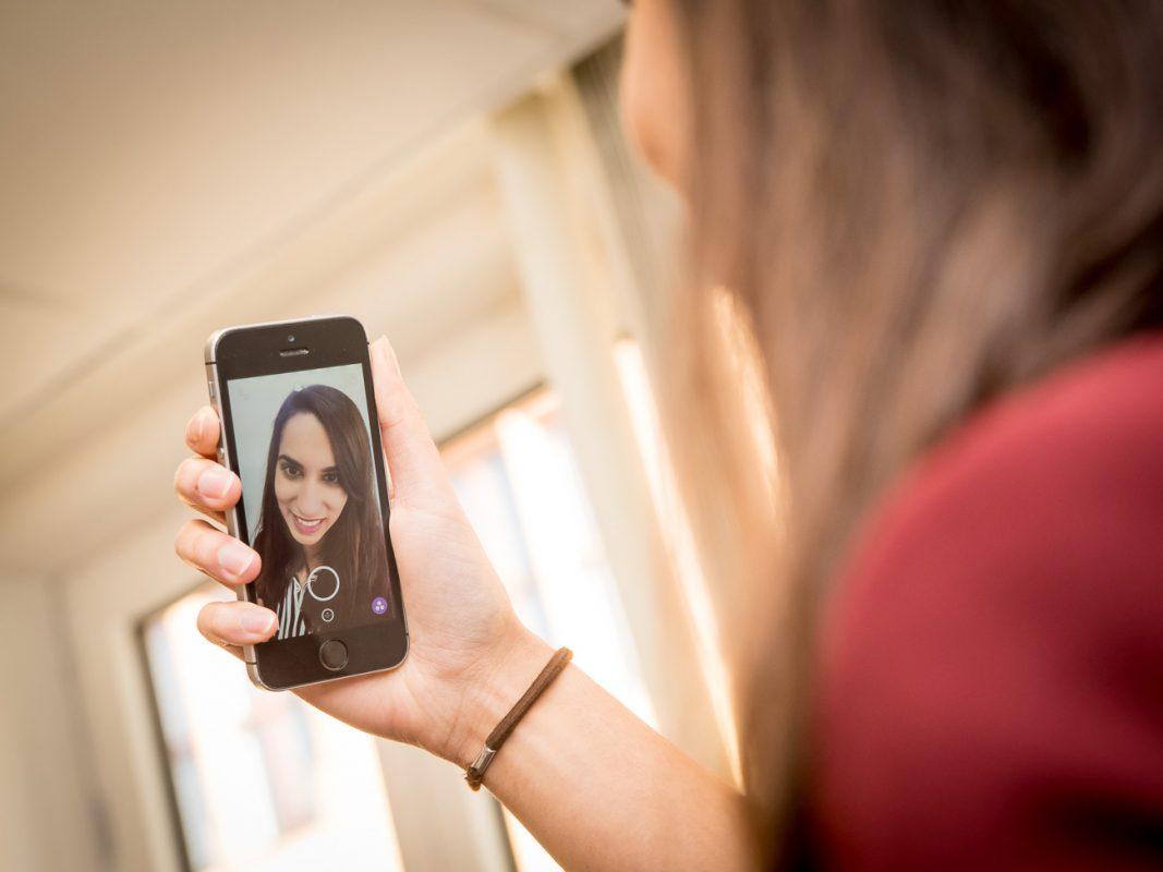 Bewerbung per Videobotschaft? Ein Snapchat-Video kann die geschriebenen Unterlagen ergänzen. – Foto: Pascal Höfig