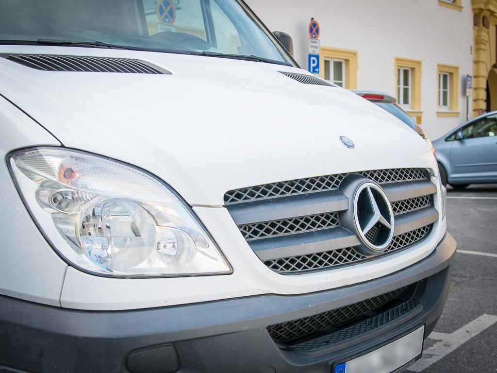 Mercedes Sprinter - Symbolbild: Pascal Höfig