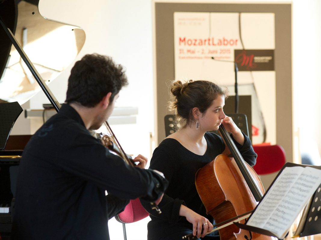 Impressionen vom MozartLabor 2015. Foto: Schmelz Fotodesign