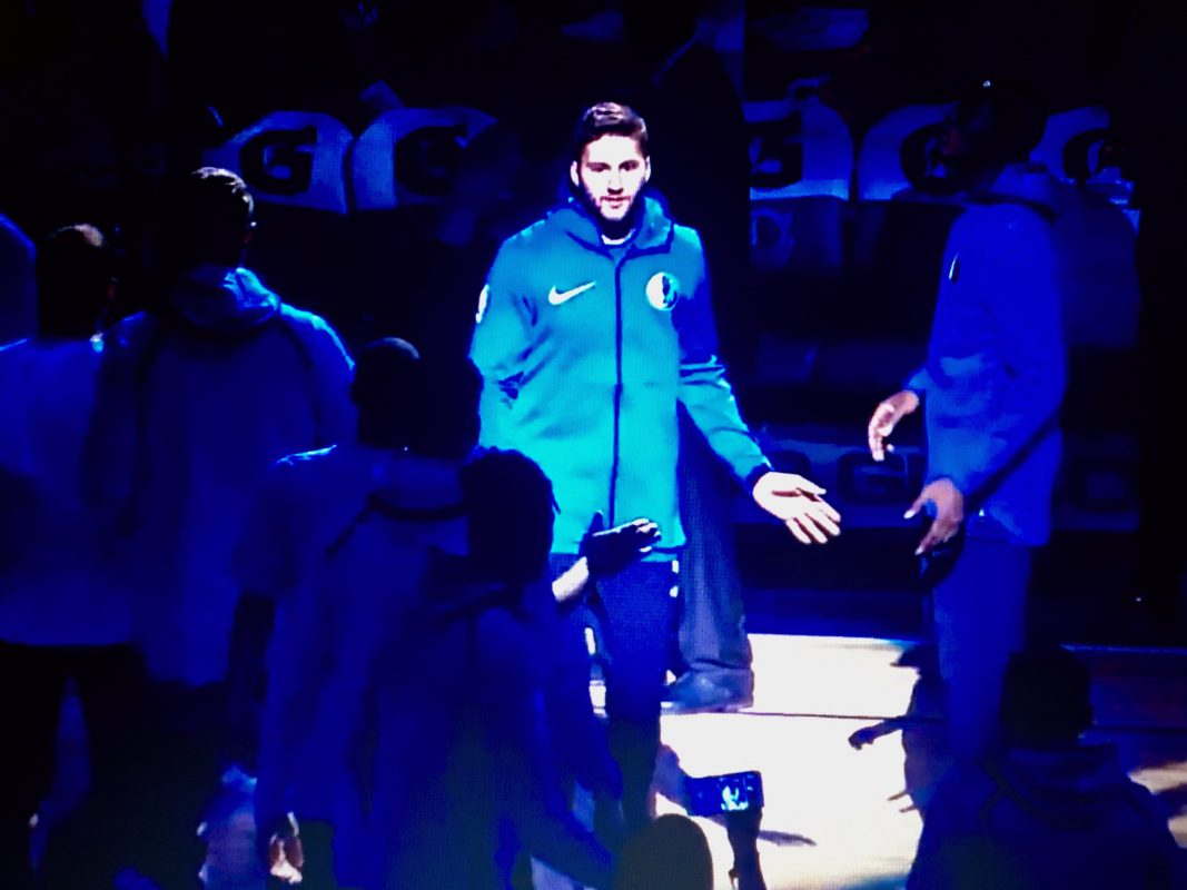 Erster Auftritt auf der NBA-Bühne für Maxi Kleber - Foto: Screenshot (Frederik Löblein).