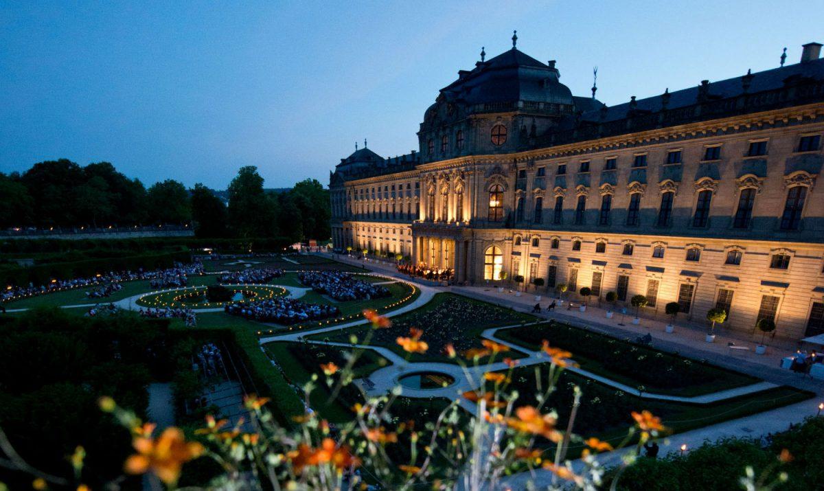 Das Mozartfest im Residenzgarten. Foto: Daniel Peter