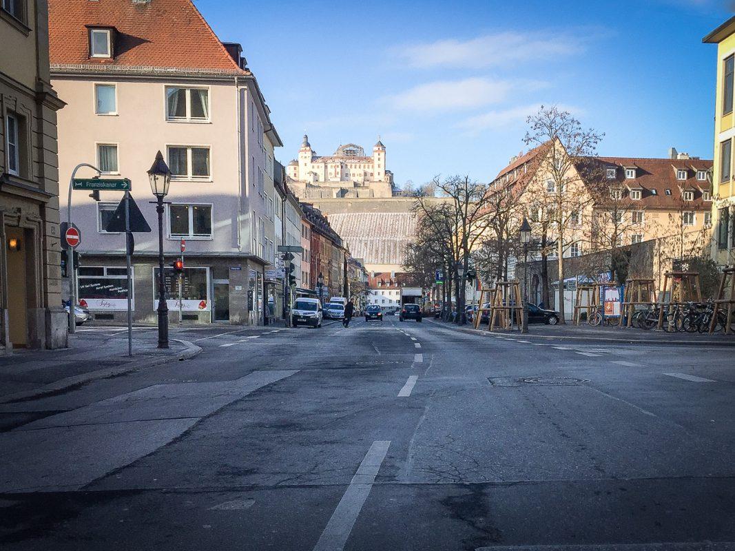 Die Neubaustraße in Würzburg - Foto: Pascal Höfig