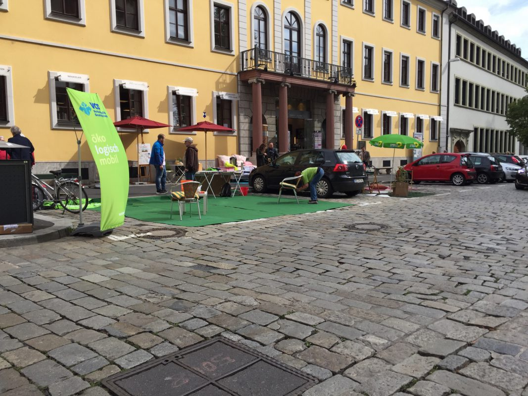 Parking Day 2017 in Würzburg - Foto: Pascal Höfig.