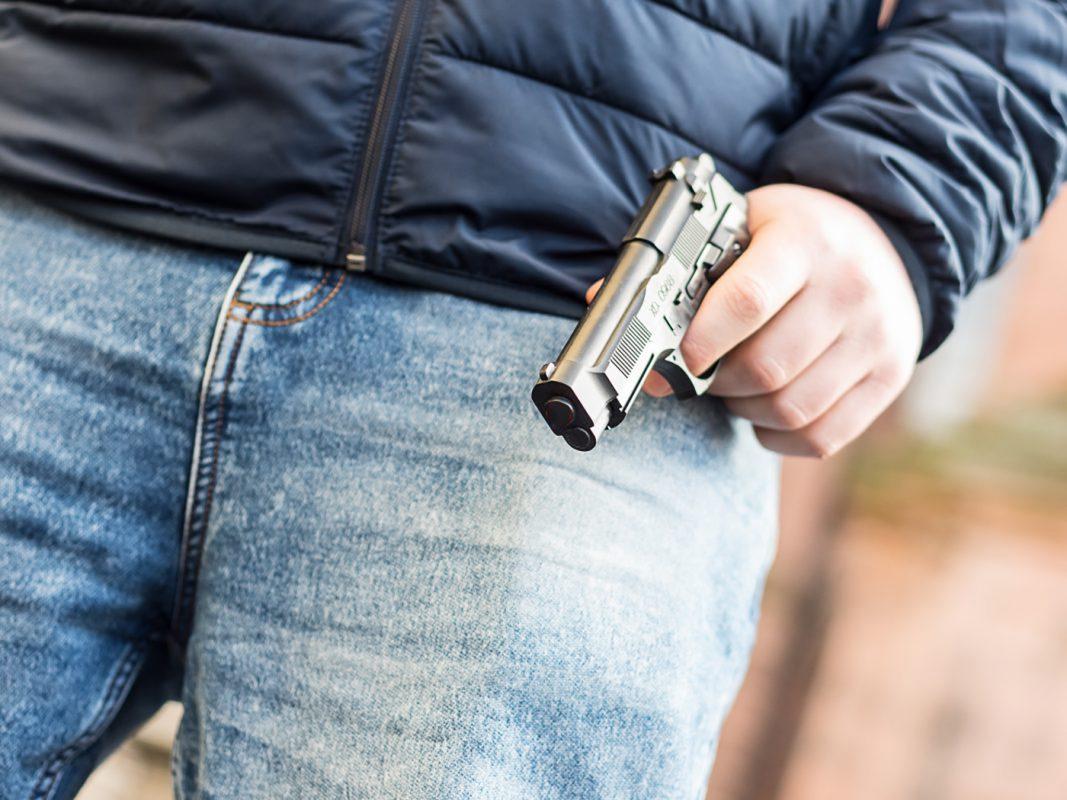 Eine Spielzeugpistole. Symbolfoto: Pascal Höfig