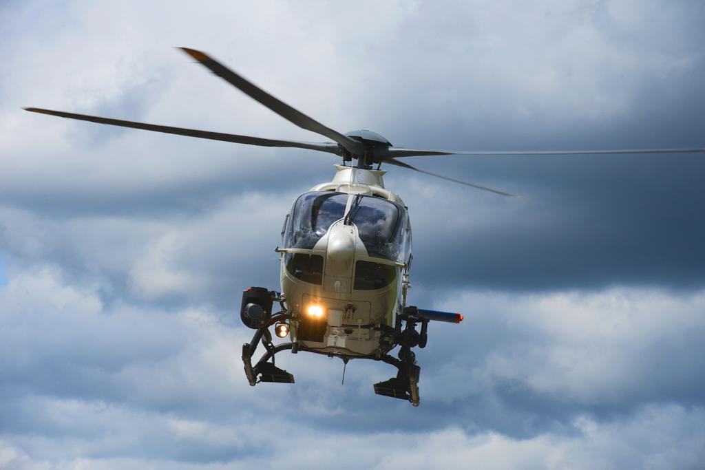Hubschrauber der Bayerischen Polizei - Foto: Polizei Bayern