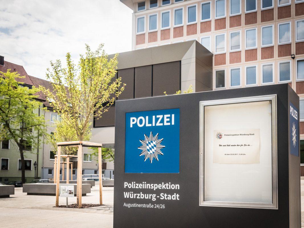 Polizeiinspektion Würzburg-Stadt wieder in die Augustinerstraße. Foto: Pascal Höfig