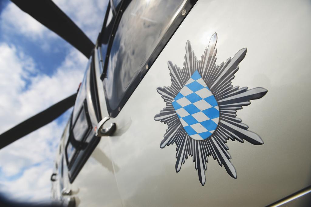 Hubschrauber der Bayerischen Polizei. Foto: Polizei
