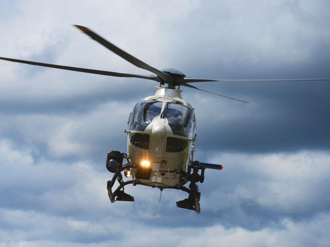 """""""Edelweiß"""" ist einer von 8 Helikoptern der Polizeihubschrauberstaffel der Bereitschaftspolizei. Foto: Polizei Bayern"""