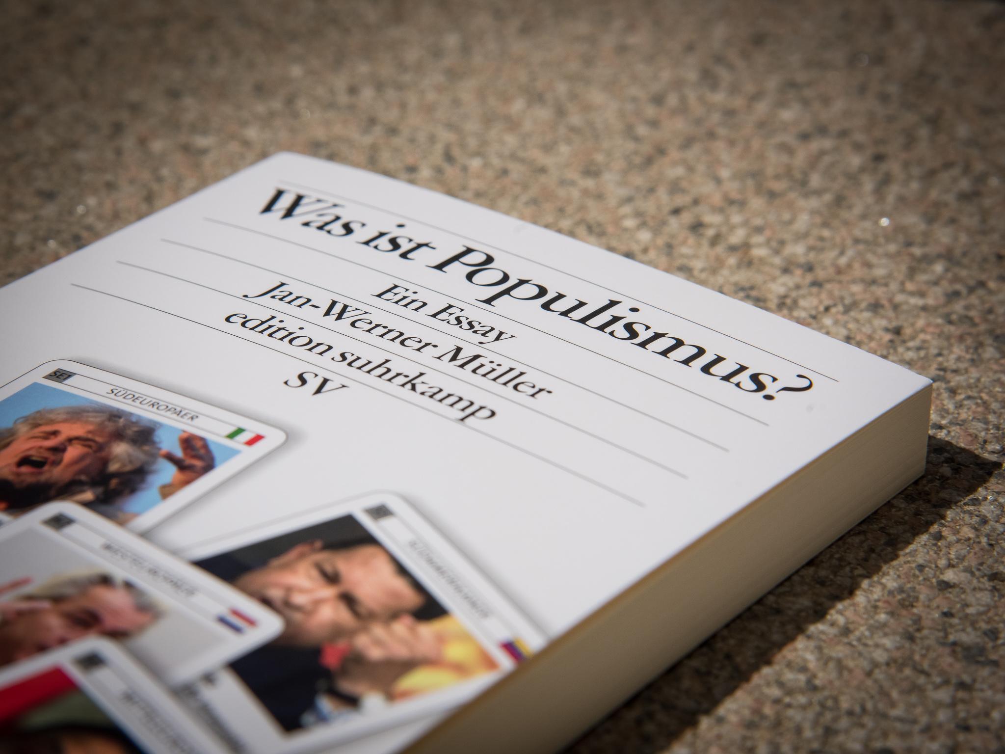 """""""Was ist Populismus?"""" - Essay von Werner Müller. Foto: Pascal Höfig"""