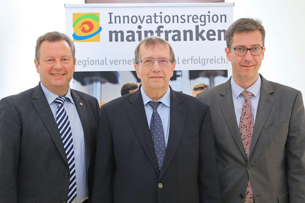 Die Sprecher des Fachforums Kooperation Wissenschaft & Wirtschaft. Foto: Rudi Merkl