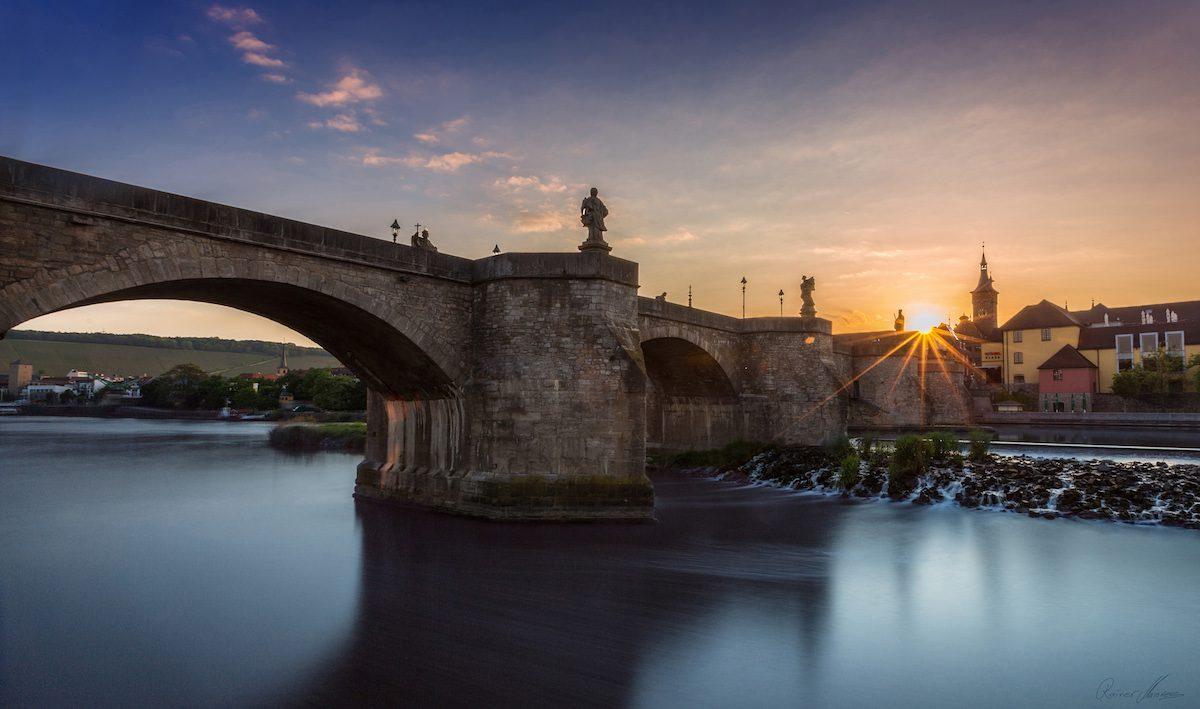 Alte Mainbrücke Würzburg. Foto: Rainer Maiores