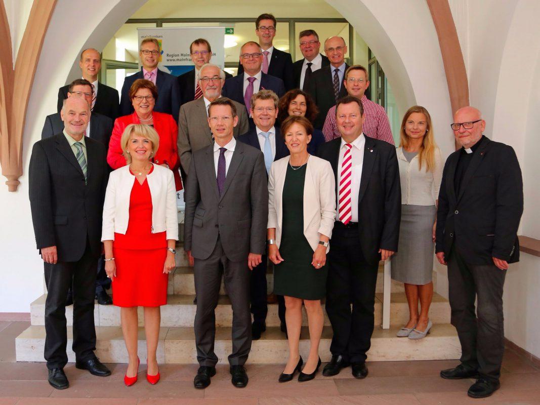 Gemeinsam für Mainfranken – der Rat der Region. Foto: Rudi Merkl