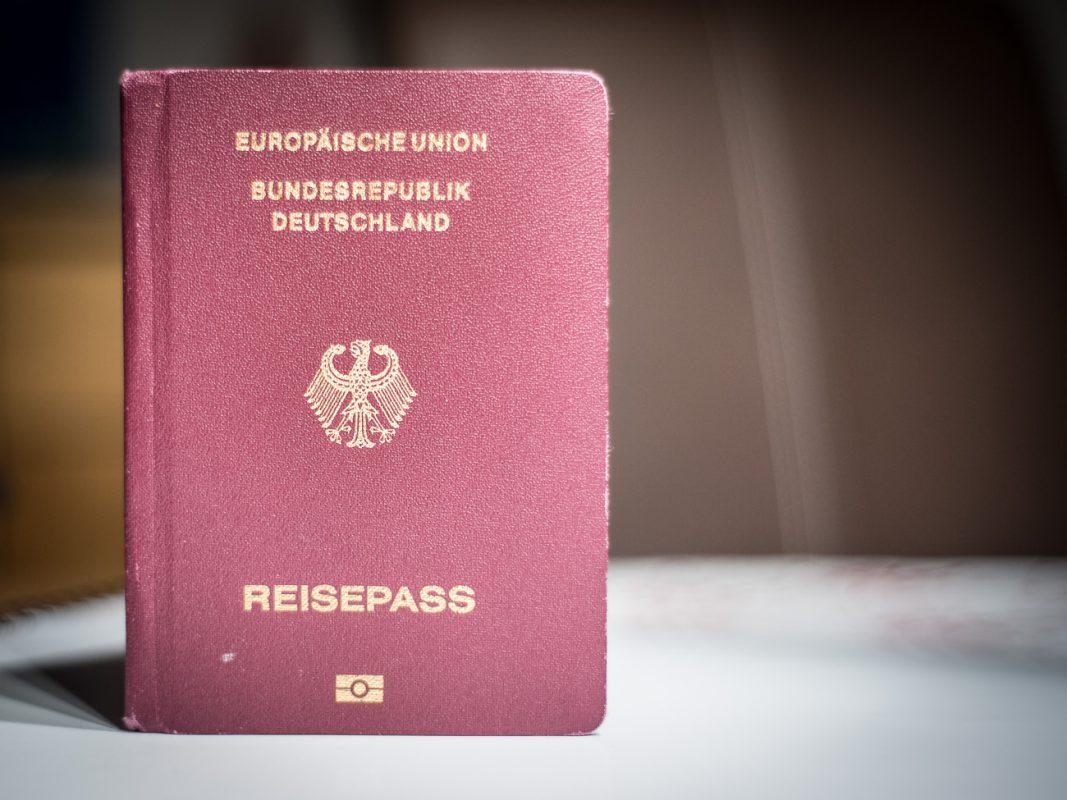 Der deutsche Reisepass. Foto: Pascal Höfig