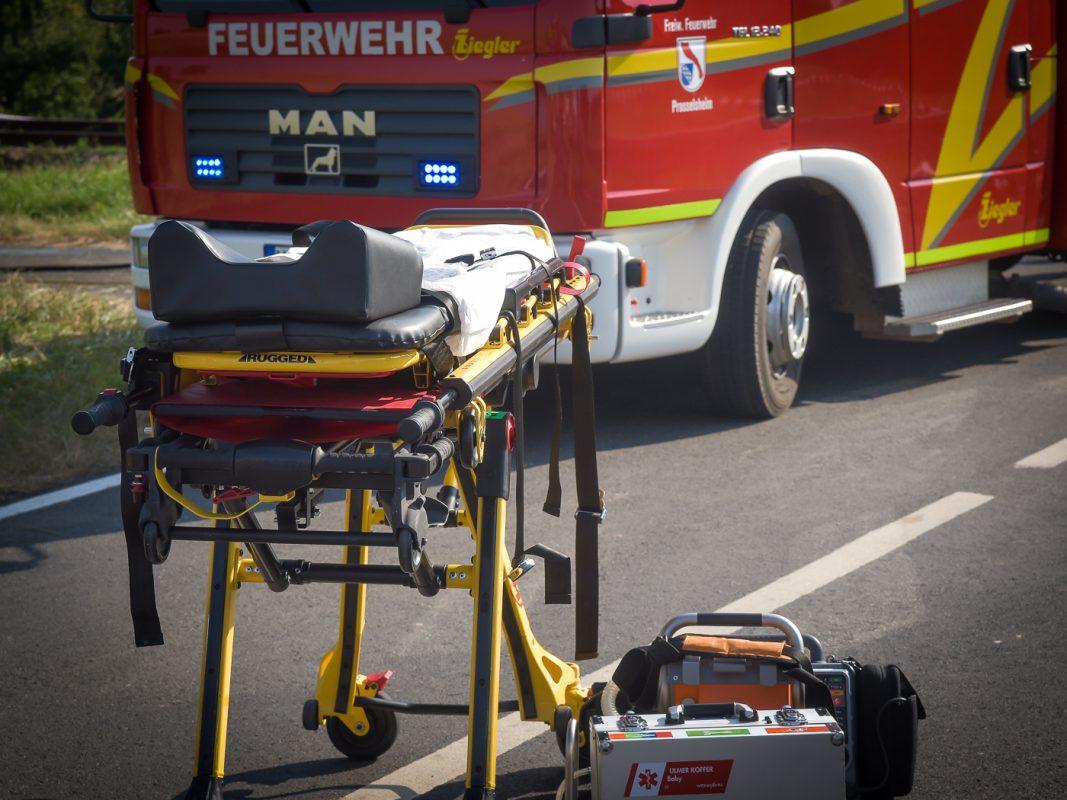 Feuerwehr und Rettungsdienst im Einsatz - Foto: Pascal Höfig