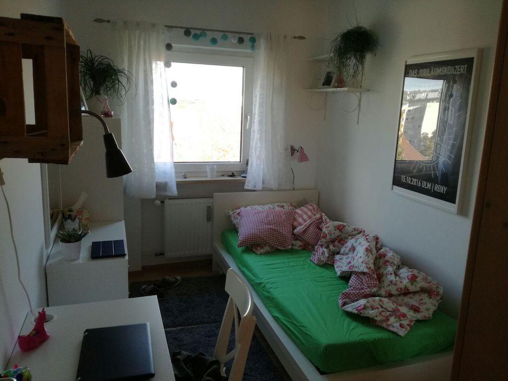 Das Zimmer ist 9qm groß - Foto: Laura Colombini