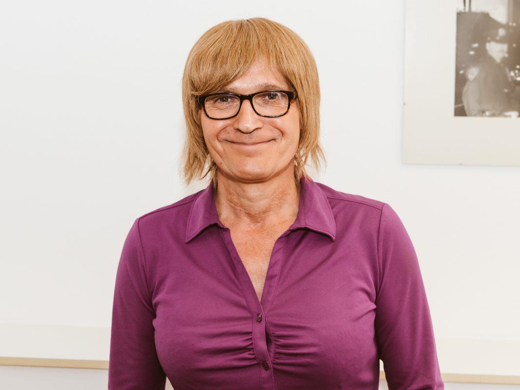 Simone Kurz, ehrenamtliche mitarbeiterin bei Trans-Ident. Foto: Pascal Höfig