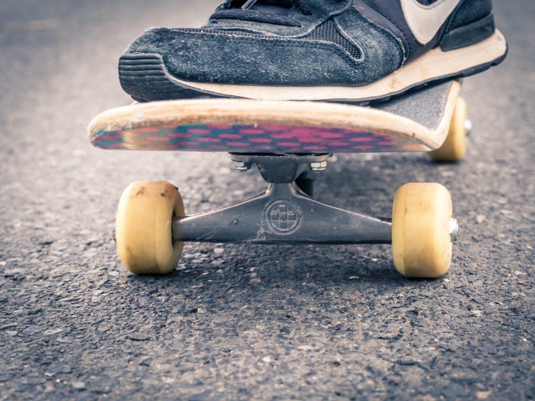 Skateboard. Foto: Pascal Höfig