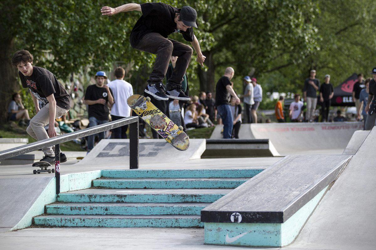 A-Gruppen-Gewinner 2015 Matthias Wieschermann – Symbolbild Skaten: Blowout Contest 2015