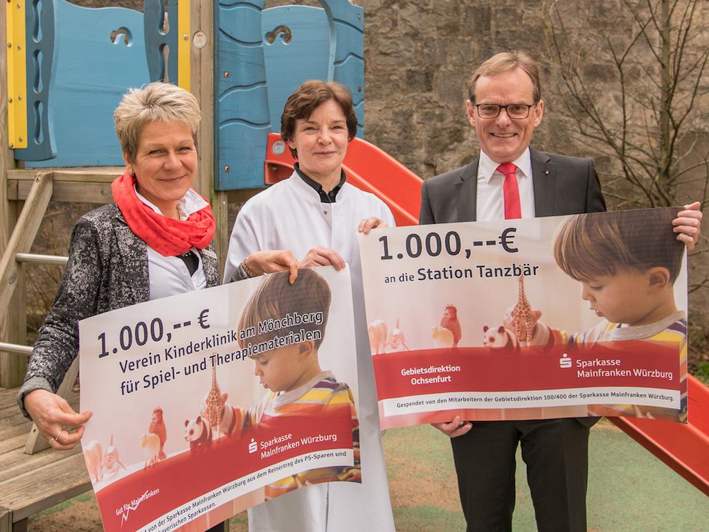 Durch viel Engagement kamen 2000 Euro für die Station zusammen. Foto: Missionsärztliche