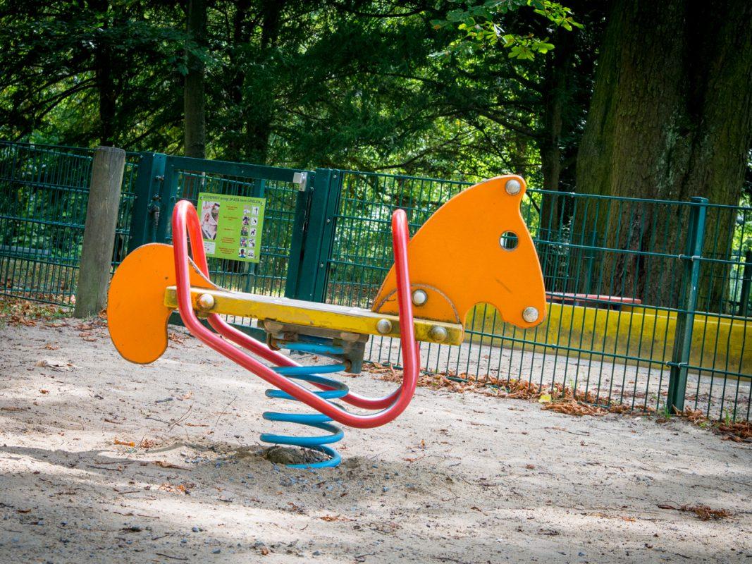 Der Spielplatz im Ringpark. Foto: Cosima Kleinschnitz