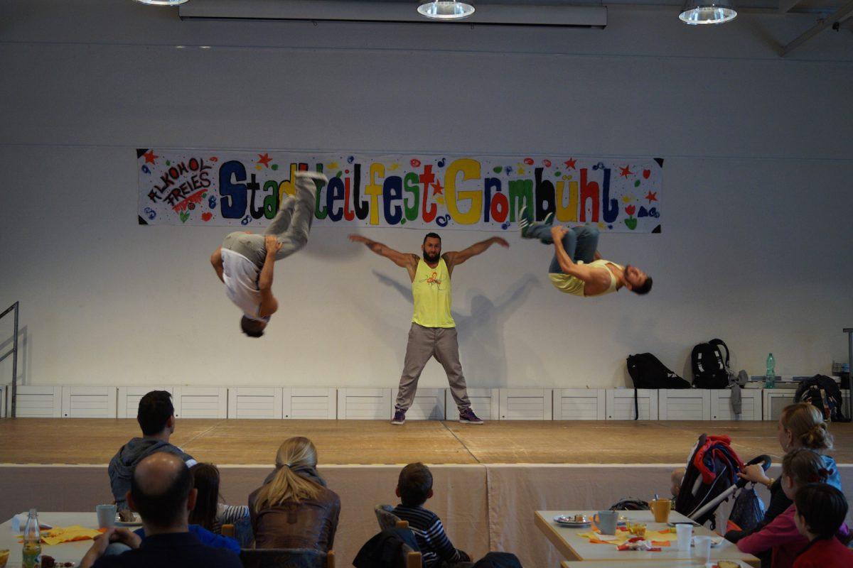 Am Sonntag findet zum 20. Mal das alkoholfreie Stadtteilfest in Grombühl statt. Foto: Team Jugendarbeit Grombühl