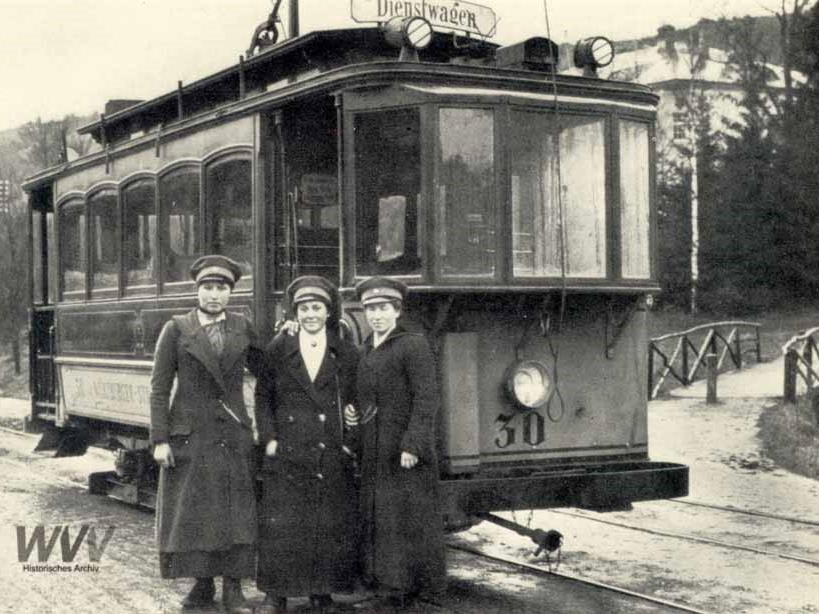 Die WVV blickt auf 125-Jahre Straßenbahngeschichte zurück. Foto: Historisches Archiv WVV