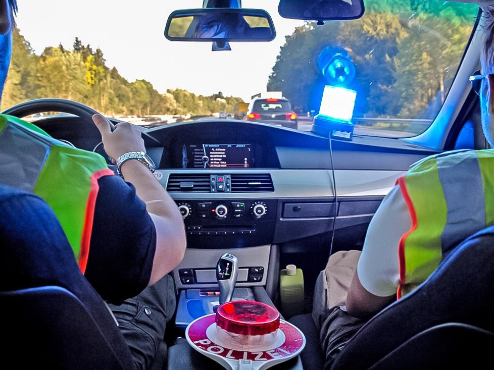 Zivilfahnder im Einsatz. Symbolfoto: Bundespolizei