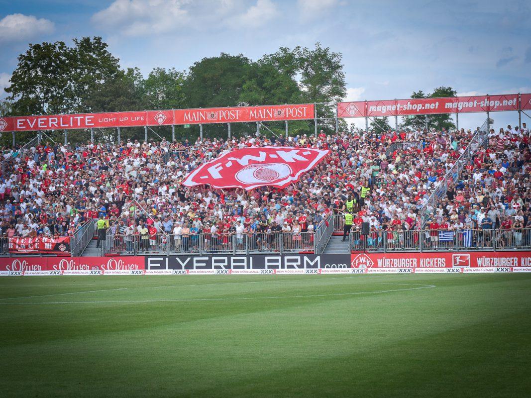 Das Stadion der Würzburger Kickers. Symbolbild: Pascal Höfig