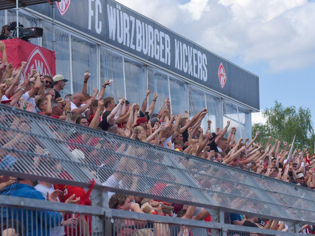 Das Stadion der Würzburger Kickers. Foto: Pascal Höfig