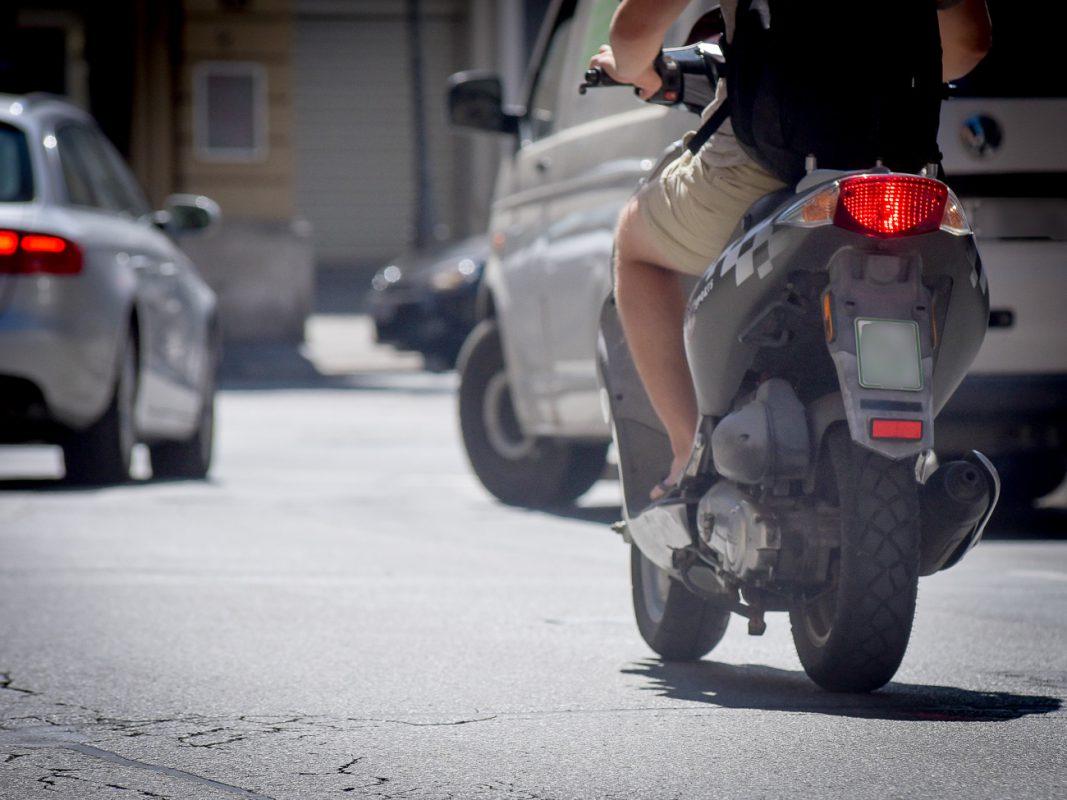 Roller im Straßenverkehr - Foto: Pascal Höfig