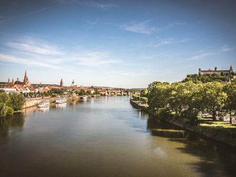 Würzburg am Main. Foto: Pascal Höfig