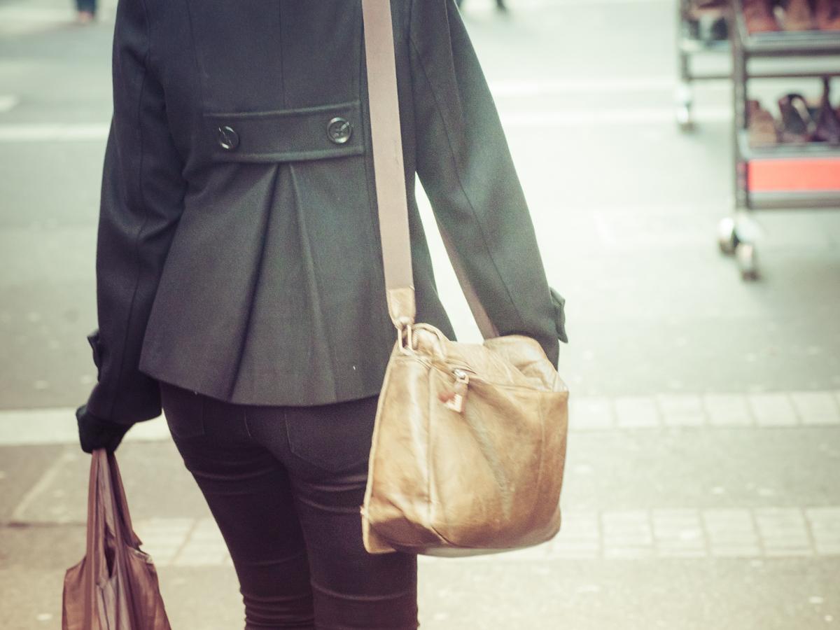 Shopping in der Stadt. Symbolbild: Pascal Höfig