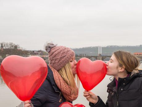 Symbolbild Valentinstag - Foto: Pascal Höfig