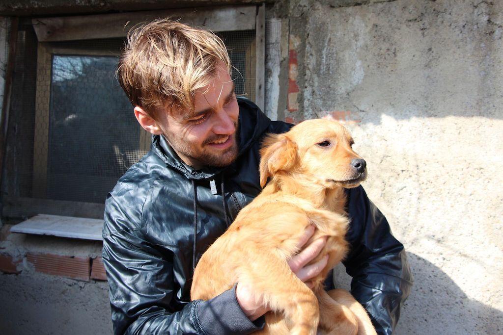 Schirmherr BVB-Kapitän Marcel Schmelzer. Foto: Tierschutzprojekt Italien