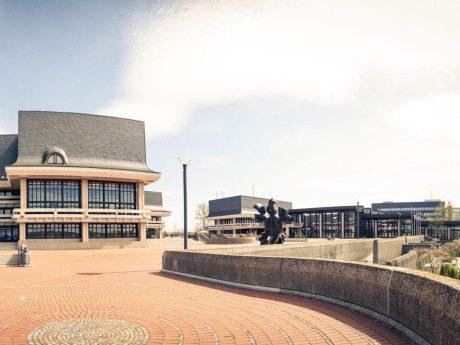 Gelände der Universität am Hubland – Foto: Dominik Ziegler