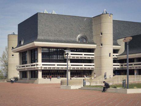 Bibliothek der Universität am Hubland. Foto: Dominik Ziegler