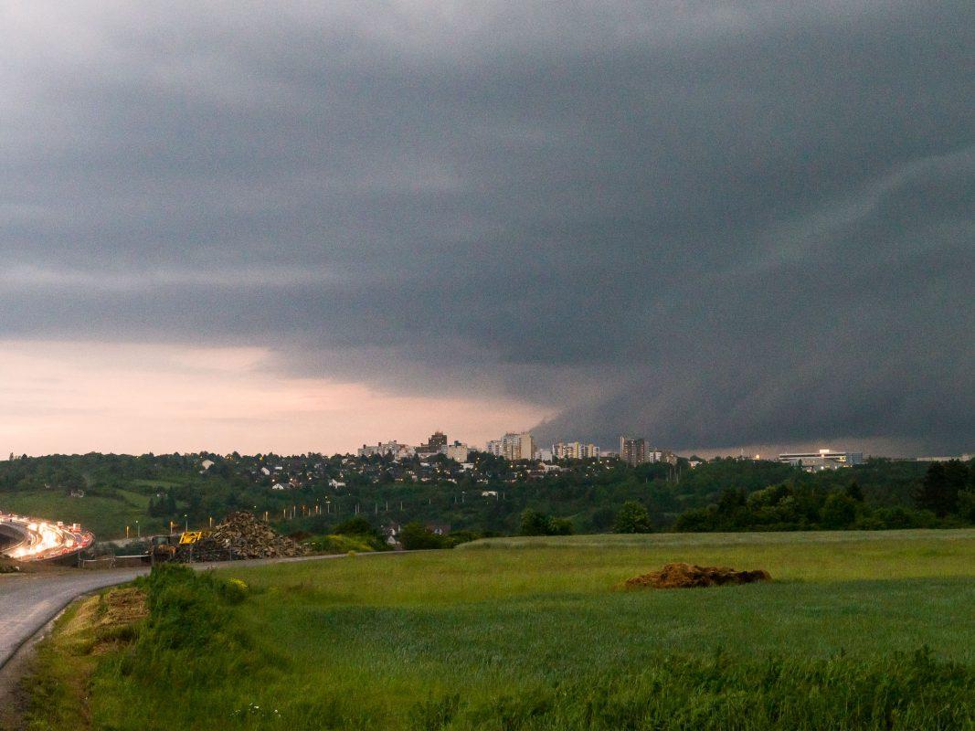 Unwetterwarnung Würzburg
