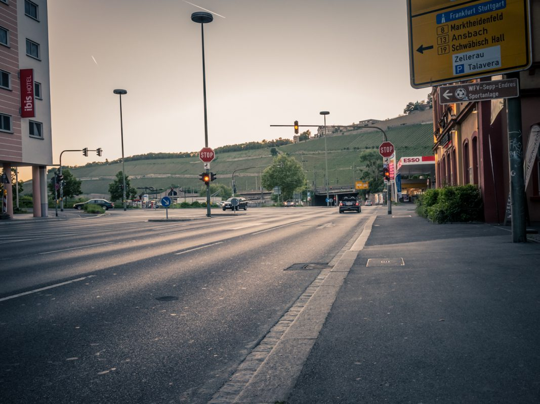 Die Veitshöchheimer Straße. Foto: Pascal Höfig