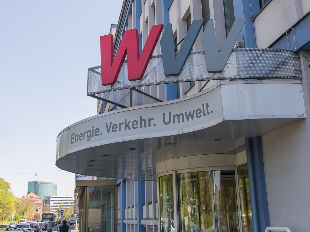 WVV-Zentrum am Haugerring. Foto: Pascal Höfig