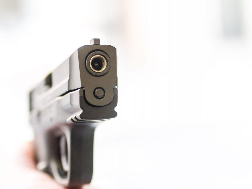 Eine Schreckschusswaffe. Foto: Pascal Höfig