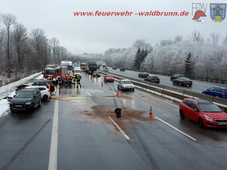 Porsche kollidiert mit mehreren Autos: 17 Verletzte - Würzburg erleben