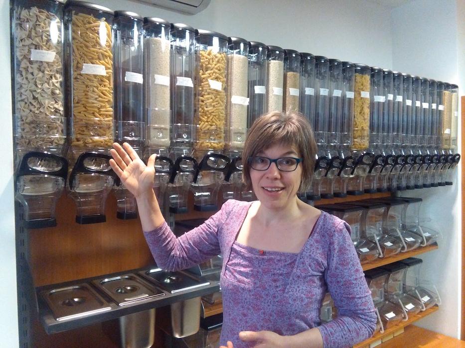 Susanne Waldmann von Unverpackt Würzburg. Foto: Jessica Wille