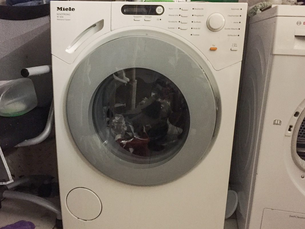 Symbolbild Waschmaschine. – Foto: Pascal Höfig