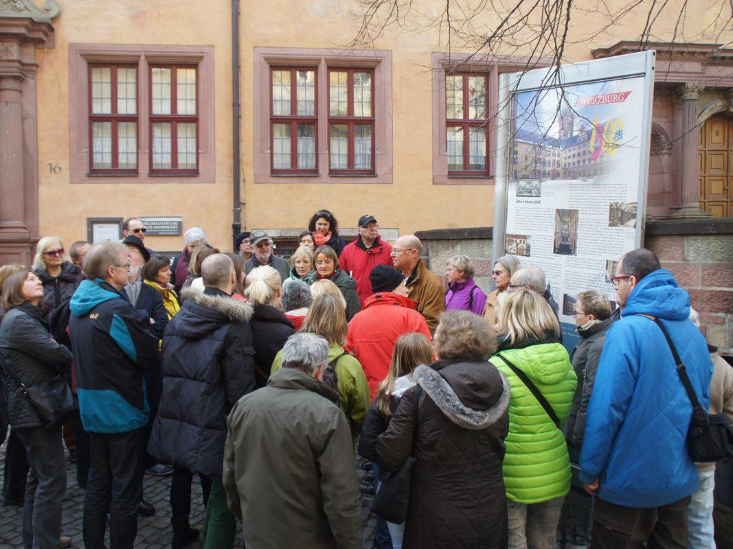 Der Weltgästeführertag der Würzburger Gästeführer e.V. Foto: Manfred Gessler
