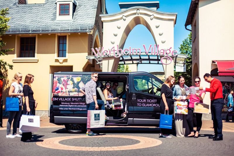Der luxuriöse Shuttle-Service von Wertheim Village. Foto: Value Retail