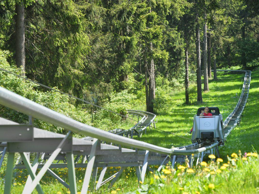 Action und Spaß auf der Wasserkuppe mit dem WieLi. Foto: Wiegand Erlebnisberge GmbH